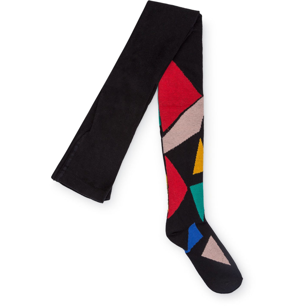 bobo choses geometric tights - kodomo