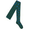 bobo choses new girls fall collection saturn tights in green - free fast shipping on all orders over $99 from kodomo