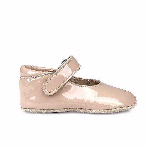 petit nord ballerina shoe pale rose patent - kodomo boston
