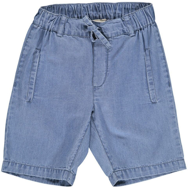 marmar copenhagen new spring summer boys collection peter denim shorts mild denim blue - free fast shipping on all orders over $99 from kodomo