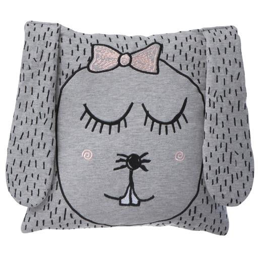ferm living little miss rabbit pillow - kodomo boston