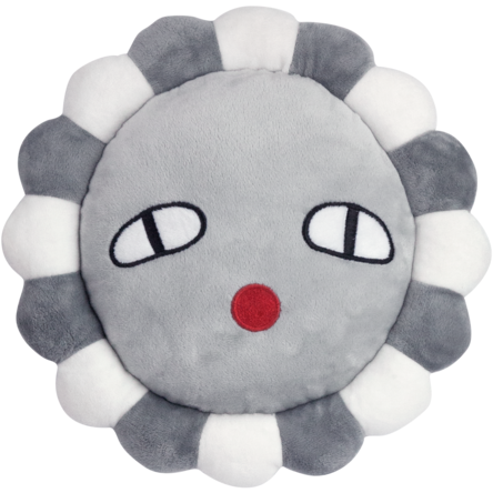 luckyboysunday poppy flower grey - free shipping over $99 from kodomo boston