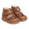 angulus starter boot with velcro cognac, children toddler shoes