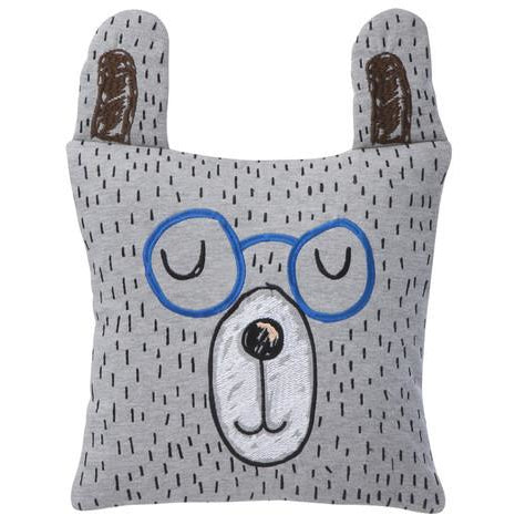 ferm living little mr teddy pillow - kodomo boston