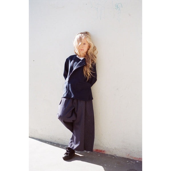 boy+girl kyoto jacket navy