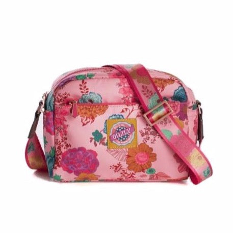 oilily color splash x-small shoulder bag camellia rose, children's purses  Edit alt text