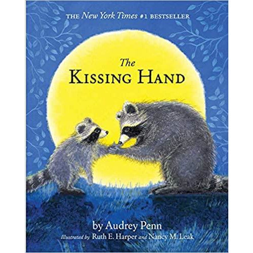 the kissing hand, childrens books teaching comfort compassion love, bestselling books for kids free shipping kodomo boston