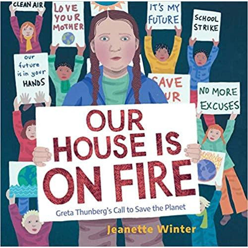 our house is on fire: greta thunberg's call to save the planet, free shipping