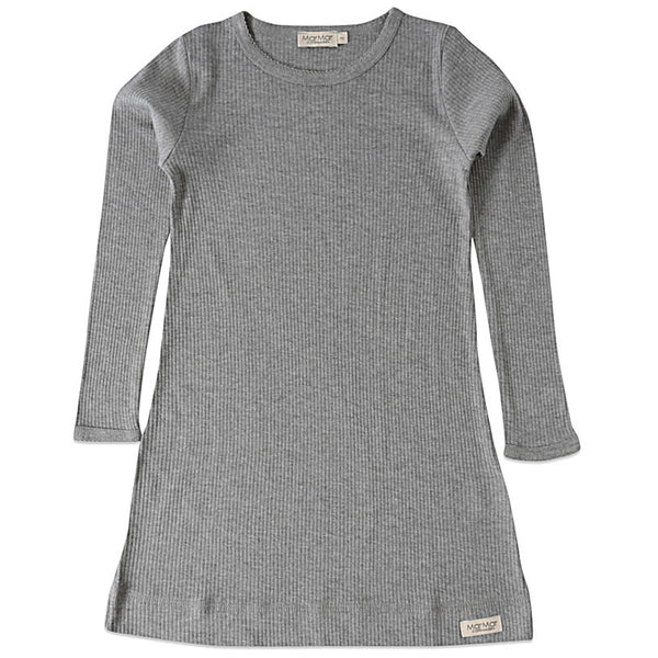 marmar copenhagen night dress grey melange - kodomo boston. free shipping.