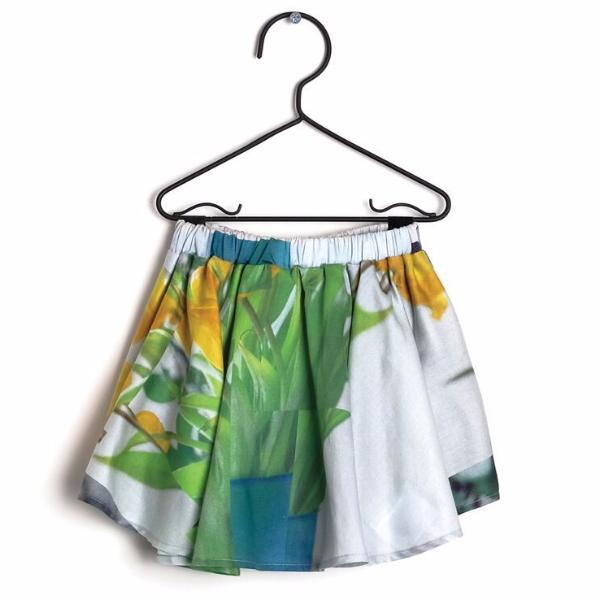 wolf & rita luisa abstract floral print baby skort - free fast shipping on all orders over $99 from kodomo