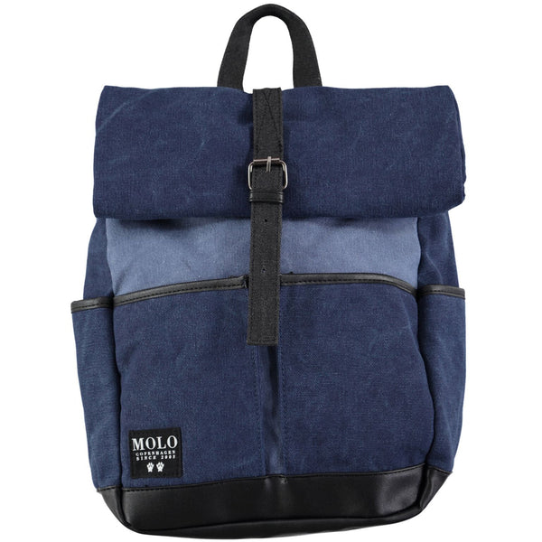 solo roll up back pack blue - kodomo