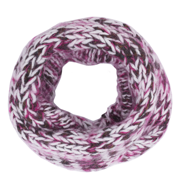 paade mode harris alpaca blend snood pink - kodomo boston, fast shipping, new paade mode colelction