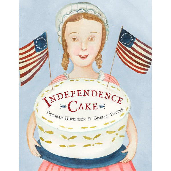 independence cake picture book for kids learn Revolutionary America cookbook, free shipping kodomo boston