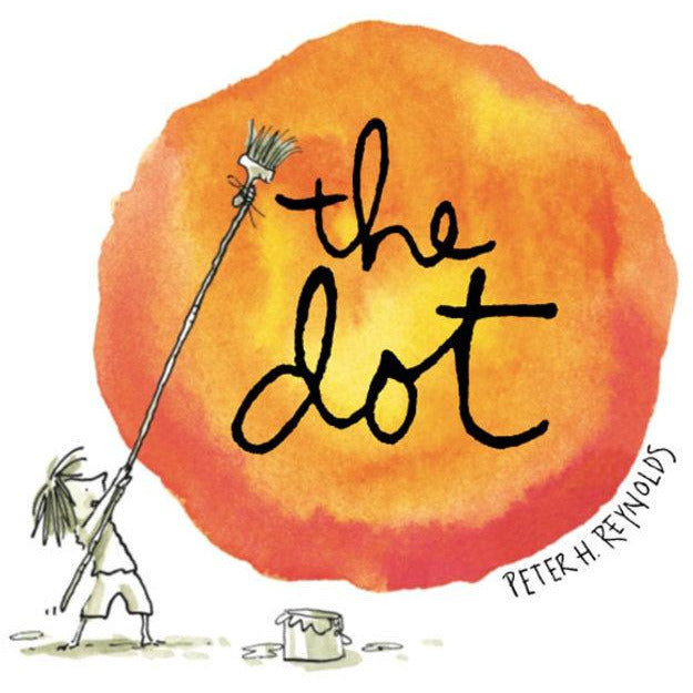 the dot book peter reynolds inspire children creativity, favorite kids books free shipping kodomo boston