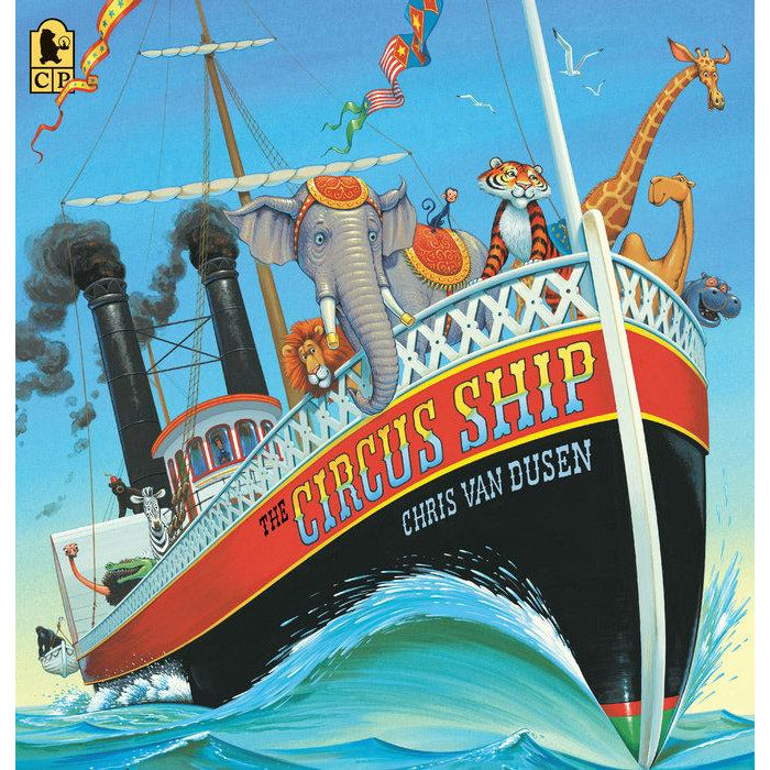 the circus ship best books for kids playful animal story hardcover, free shipping kodomo boston