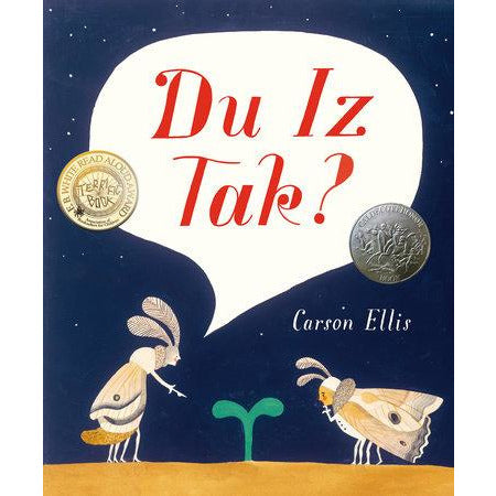 Du Iz Tak? insects book fun imaginative story time read for kids free shipping kodomo boston