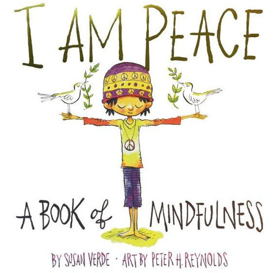 i am peace book teach kids mindfulness calm expression imagination in children, free shipping kodomo boston