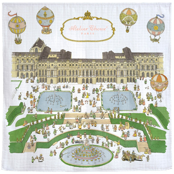atelier choux baby swaddle versailles - kodomo boston, fast shipping, baby swaddles