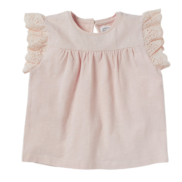bonheur du jour bali blouse rose, spring summer 2020 girls skirts and clothing from bonheur du jour at kodomo boston, free shipping