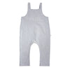 bacabuche french terry overalls heather grey - kodomo