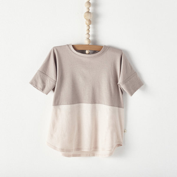 bacabuche color block tee