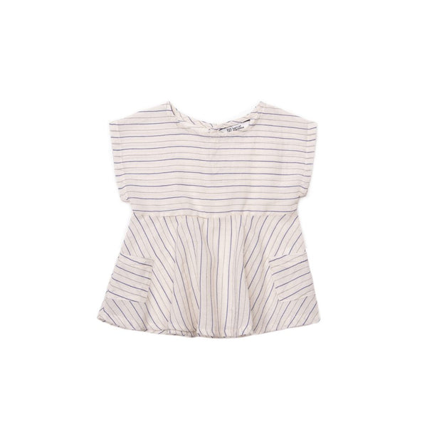 barn of monkeys baby striped dress with pockets