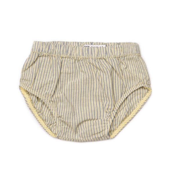 barn of monkeys striped baby culottes - free shipping kodomo boston