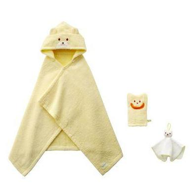 miki house bath time gift set yellow - kodomo boston