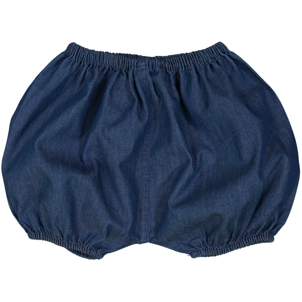louis louise london baby bloomer chambray