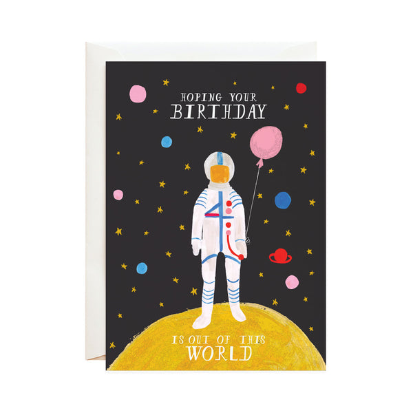 mr. boddington's studio out of this world birthday card