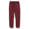 finger in the nose conor fleece jogging pants burgundy - free shipping kodomo boston