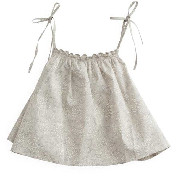 belle enfant gathered cami liberty capel - kodomo boston, new belle enfant top, free shipping.