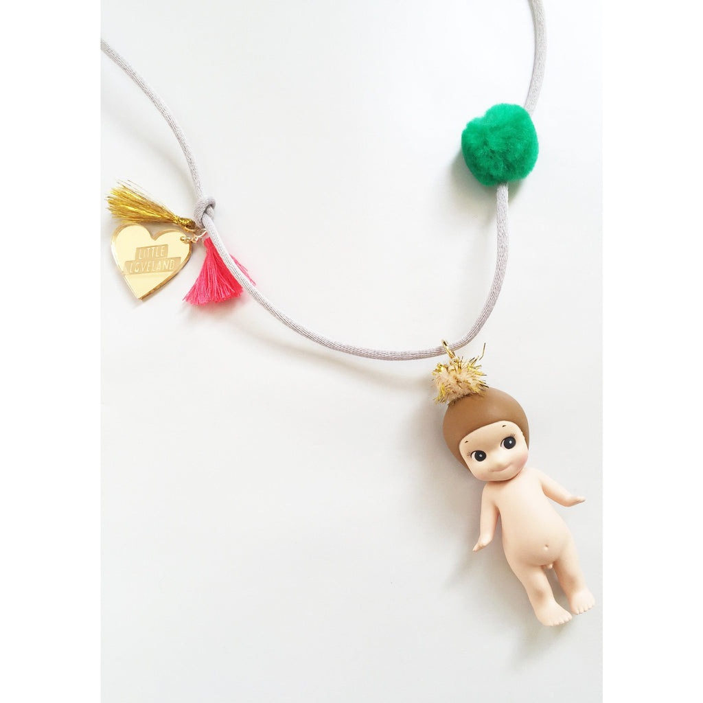 little loveland sonny angel chestnut necklace - kodomo jewelry - children's clothing in boston, little loveland - bobo choses, atsuyo et akiko, belle enfant, mamma couture, moi, my little cozmo, nico nico