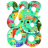 djeco puzz'art octopus, puzzles and games for kids free shipping kodomo boston