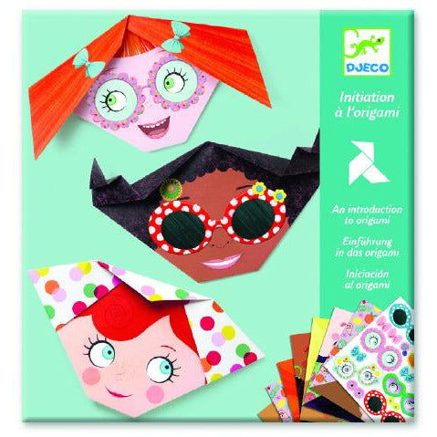 djeco origami pretty faces, free shipping kodomo boston