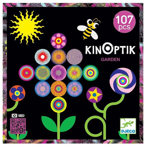 djeco kinoptik garden, magnetic imaginative play for kids free shipping kodomo boston