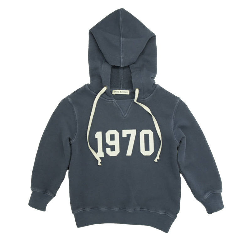 babe and tess sweatshirt indigo 1970 - kodomo boston, fast shipping