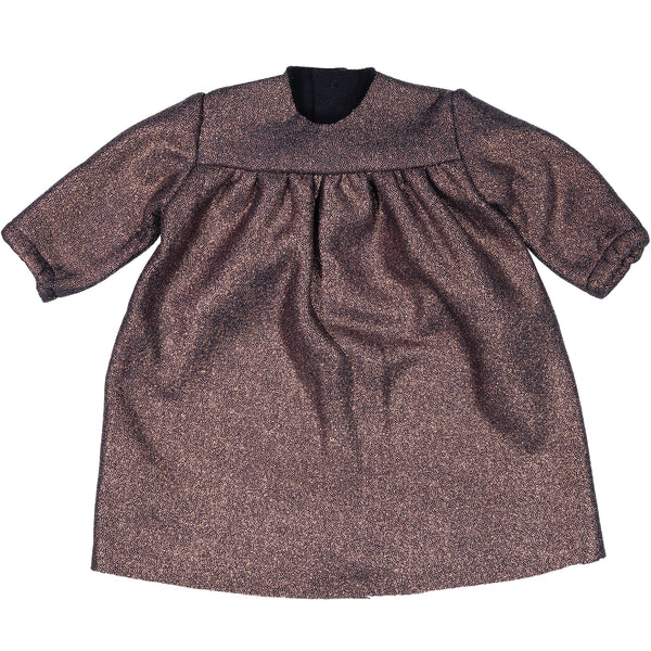 mademoiselle à soho dorothy dress cooper fleece, baby and girls special occasion dresses at kodomo boston