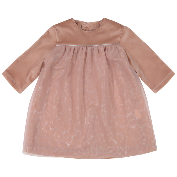 mademoiselle à soho dorothy baby dress + bloomer, baby girl special occasion dresses at kodomo boston free shipping