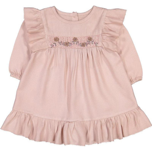 louis louise ysore baby dress pink, babies dresses with ruffles