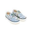 bonton hawaii slip-on sneaker blue, free shipping kodomo boson