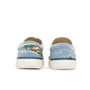 bonton hawaii slip-on sneaker blue