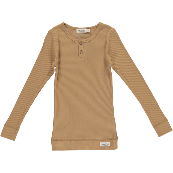 marmar copenhagen long sleeve t-shirt caramel - kodomo boston. free shipping