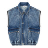 hundred pieces love yourself denim jacket, super cute girls and tweens clothing at kodomo boston, free shipping