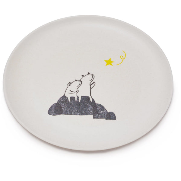 fable new york bears wishing on a star plate, eco friendly, kid friendly kitchenwares at kodomo boston