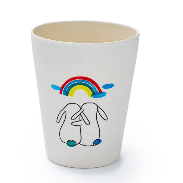 fable new york rainbow cup, eco friendly kitchenwares for kids at kodomo boston