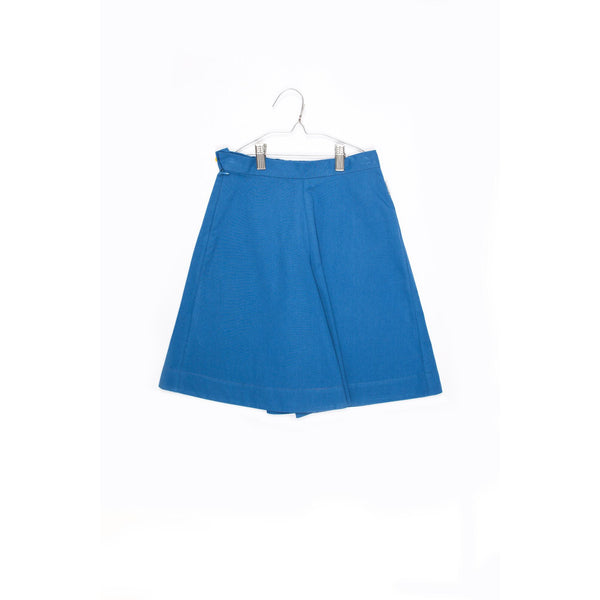 motoreta new spring summer kids collection. blue wide leg culottes for girl. free shipping kodomo boston.