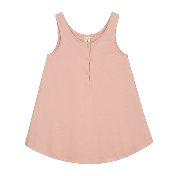 gray label tank dress vintage pink - kodomo