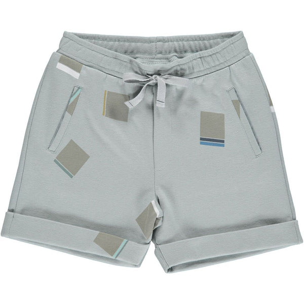marmar copenhagen new spring summer boys collection pascal shorts moondust blue squares - free fast shipping on all orders over $99 from kodomo