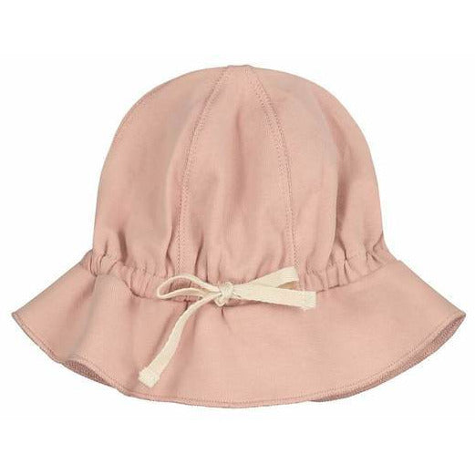 gray label baby sun hat vintage pink